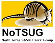 North Texas SAS® Users' Group: 9-banded armadillo