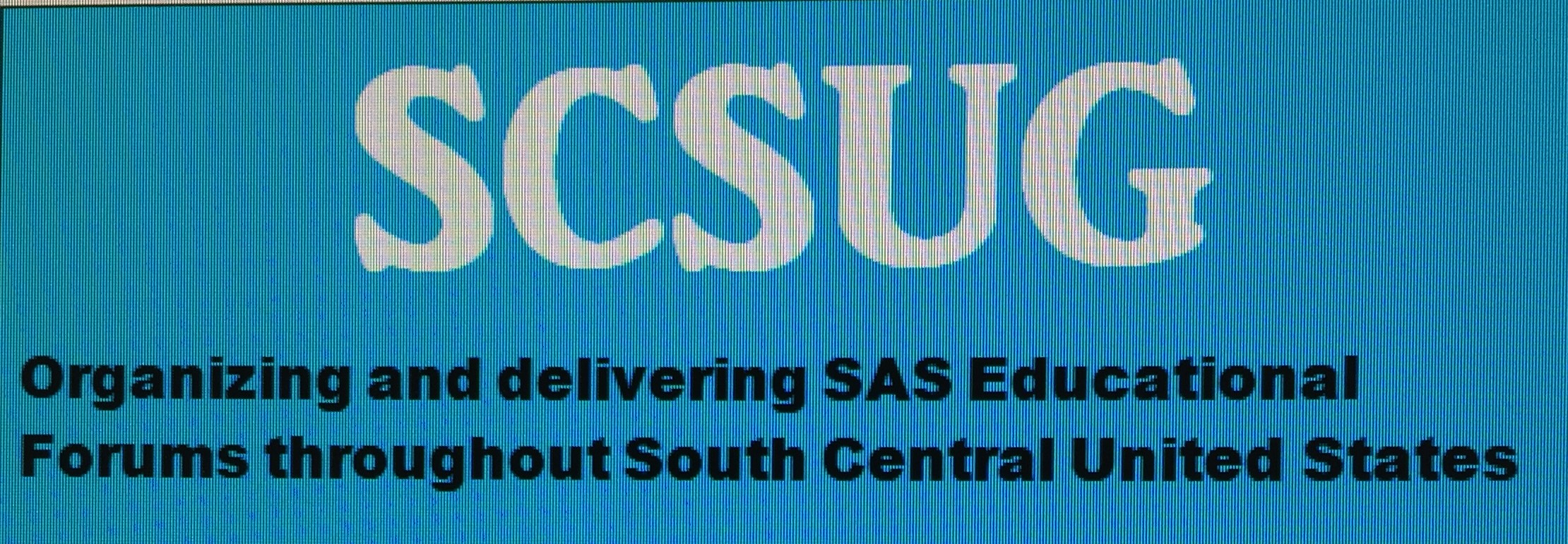 South Central SAS Users Group